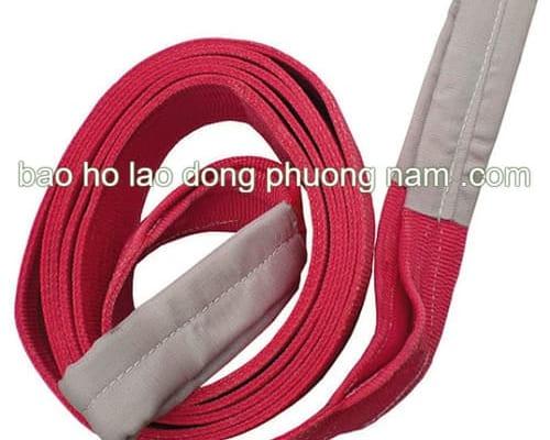 dây cẩu hàng bằng vải 5 tấn dài 8 mét