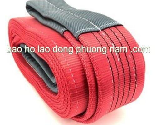 dây cáp vải cẩu hàng 5 tấn bản 125mm dài 8 mét SF 5:1 nhập khẩu